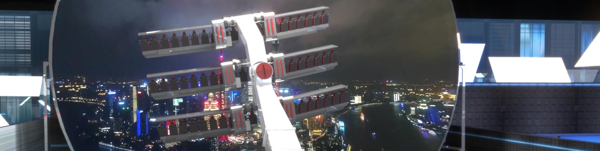 Simworx 360 Flying Theatre Dome Cinema Simworx